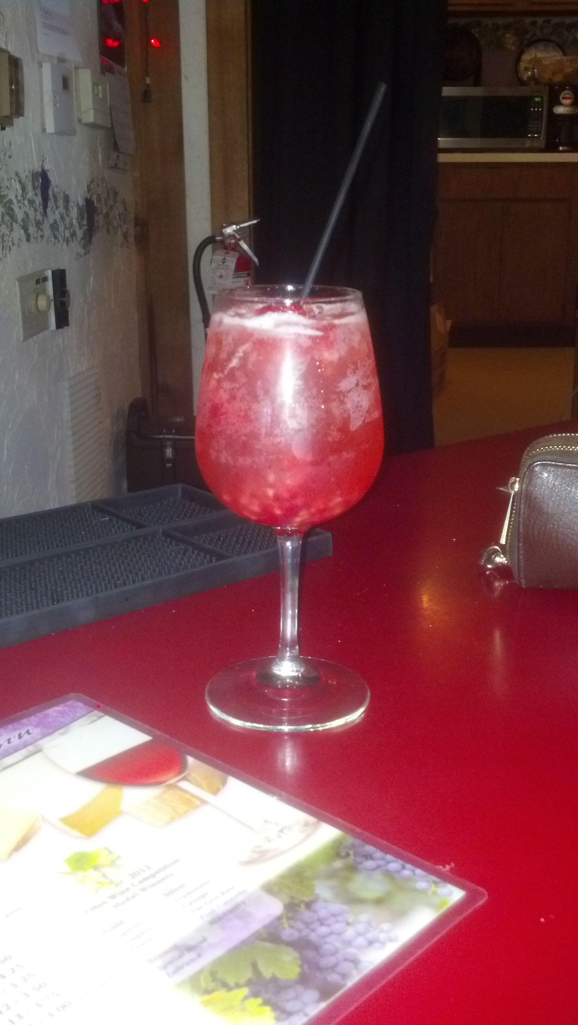 Wine Spritzer | Ladies Nites Drinks | Pinterest