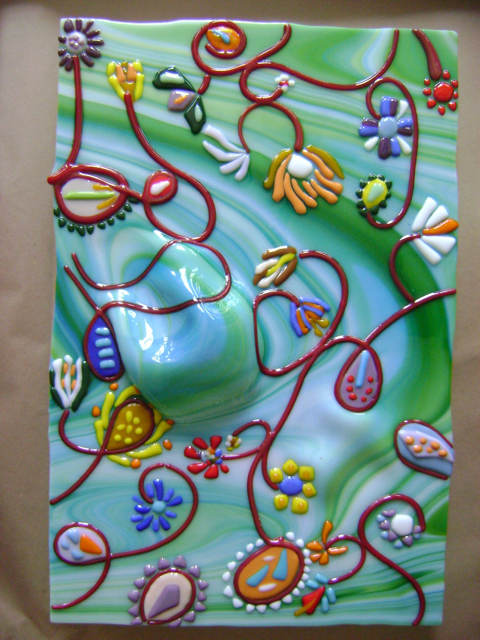 Fused glass glassy fused glass projects ideas and art for Projects with glass