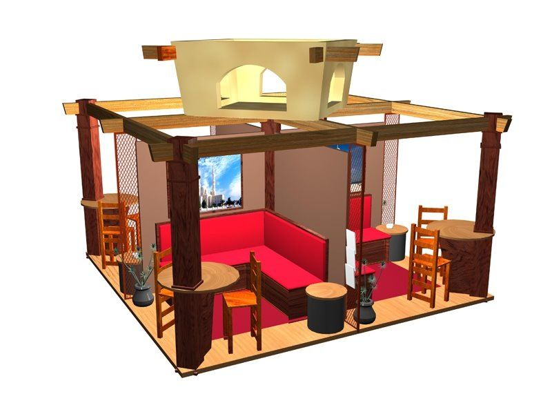 Exhibition Booth Concept : Exhibition booth design concept concepts and sketches