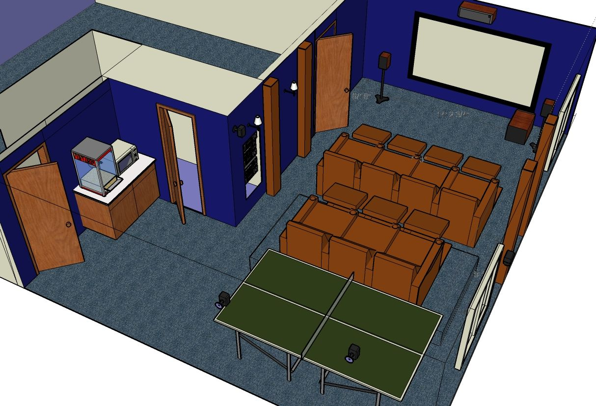 Comhome theater design layout crowdbuild for - Home theatre design layout ...