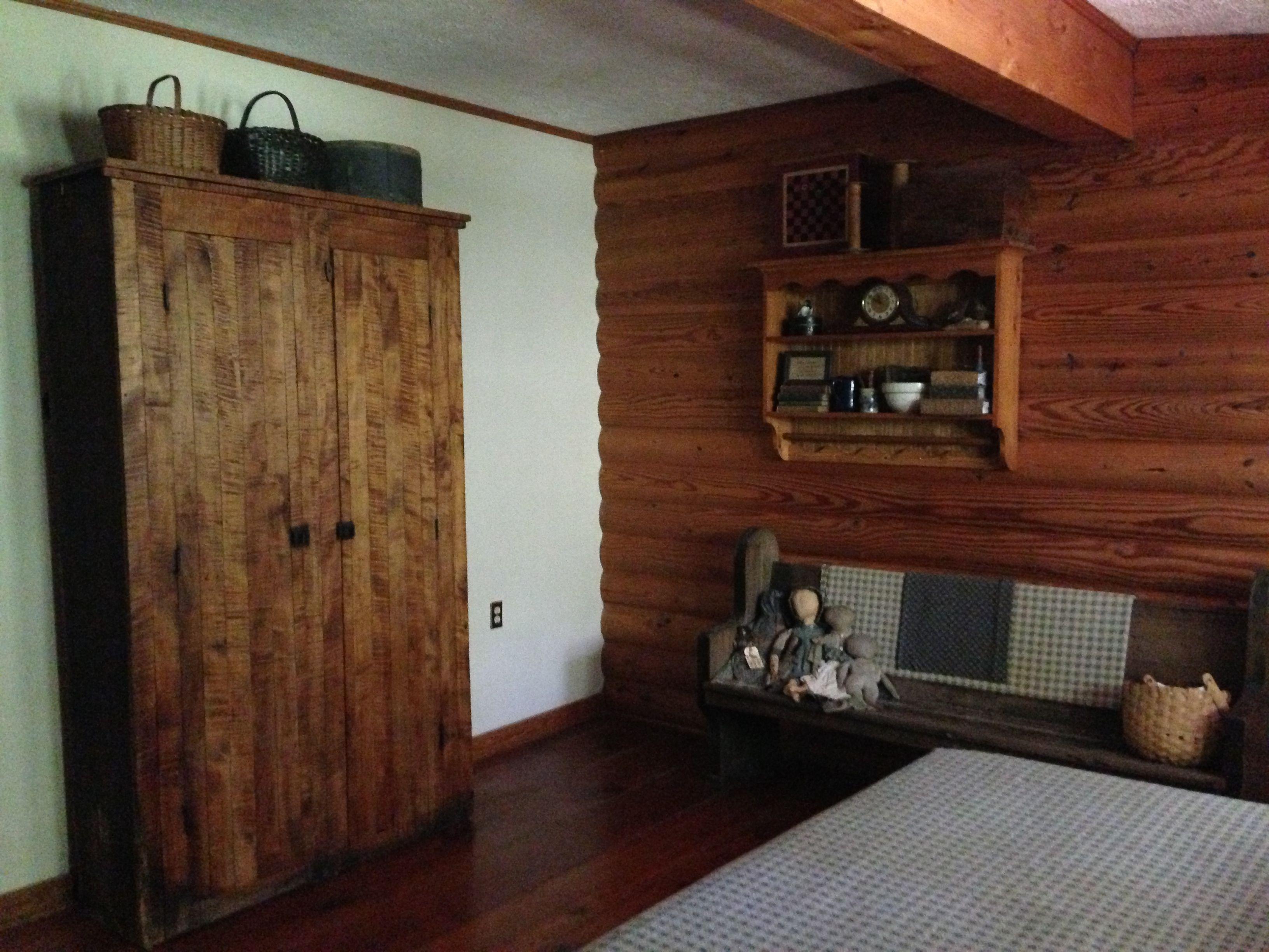 primitive bedroom makeover primitive style bedrooms pinterest