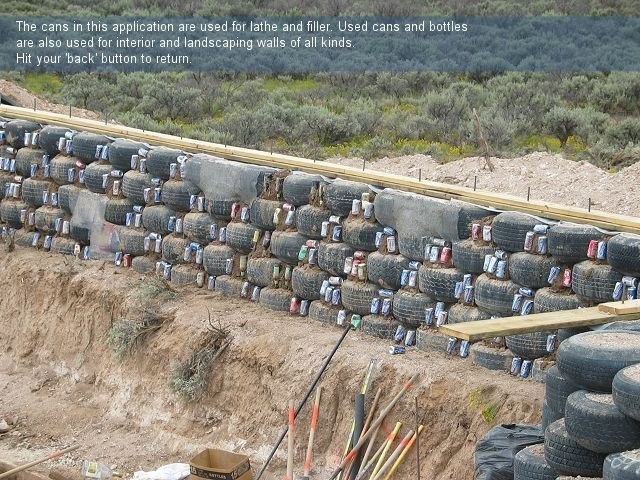 Earthship Construction Materials : Earthship construction earthships pinterest