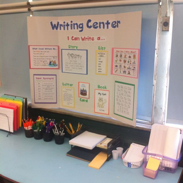 the new school writing center