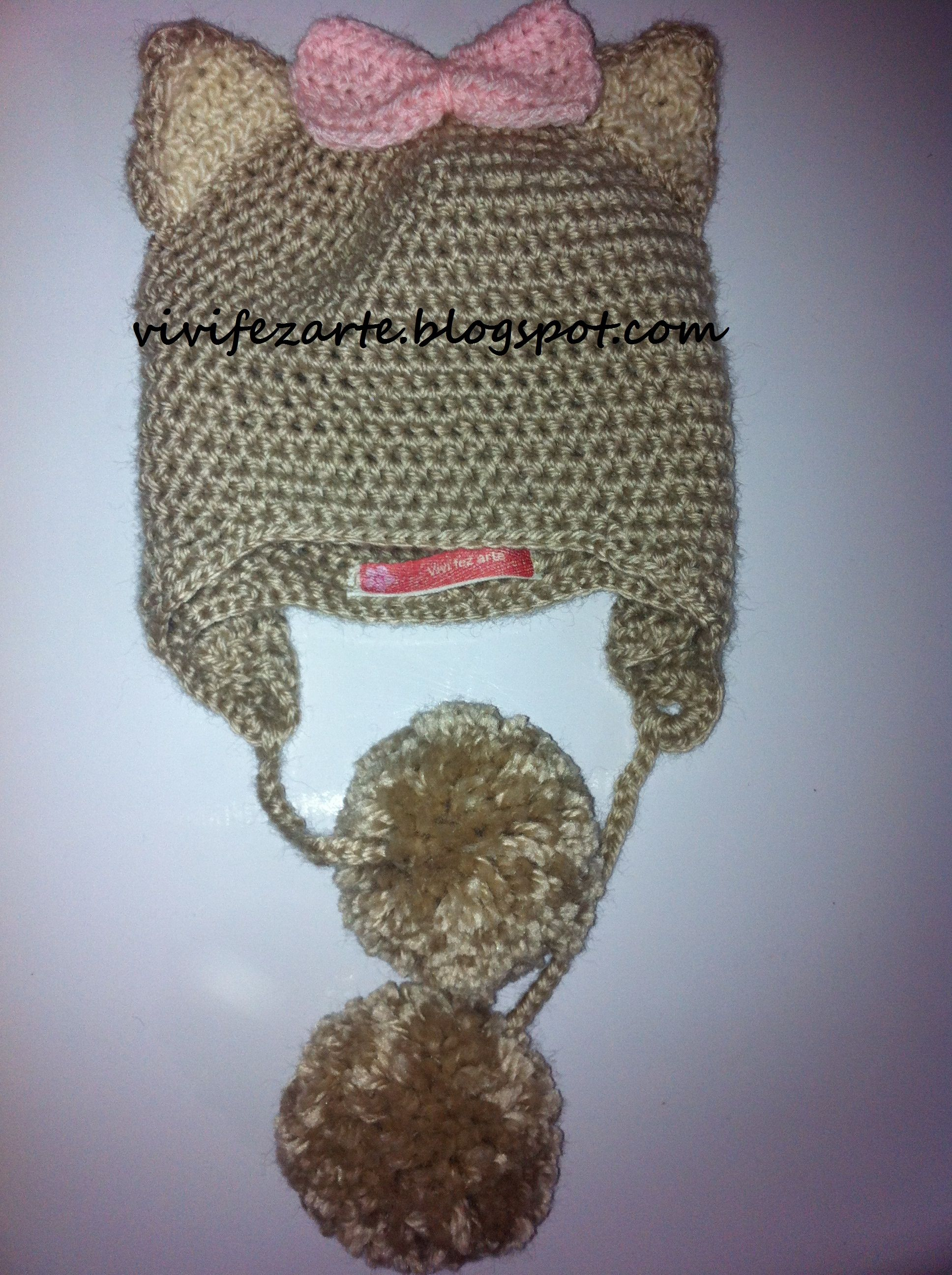 Crochet Cat Hat : Cat crochet hat Crochet & Co. Pinterest