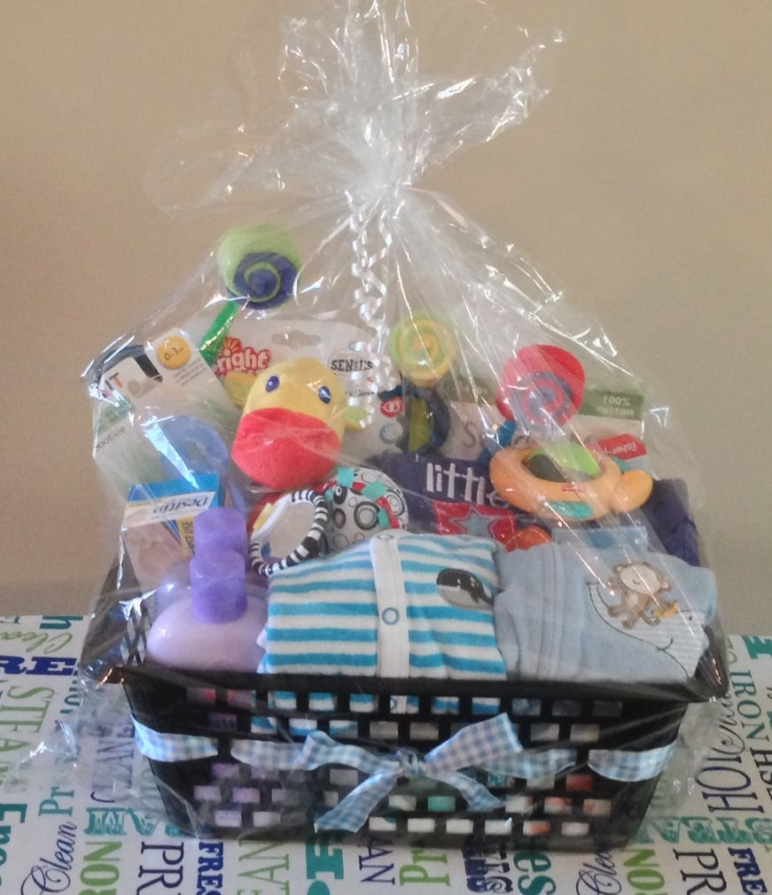 baby shower gift basket gifts pinterest