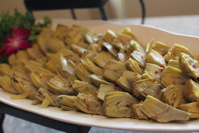 Marinated Artichoke Hearts | Broccoli, Artichoke, Brussels Sprouts, L ...