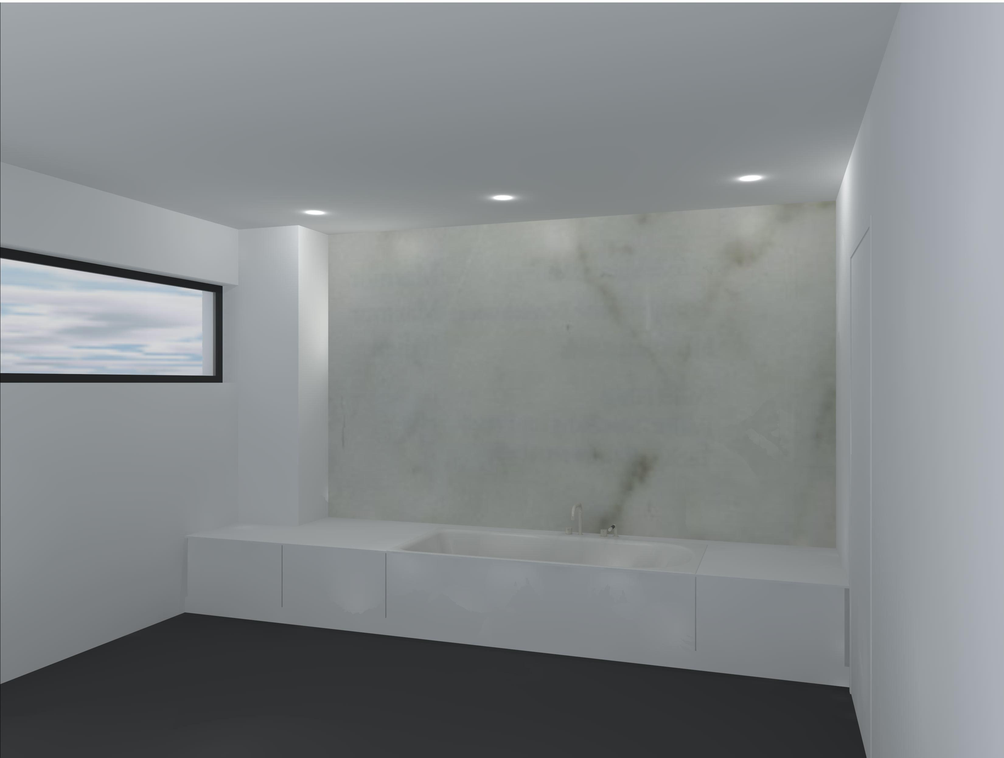 Badkamer Spotjes : Verlichting via spotjes in plafond Bathroom ...