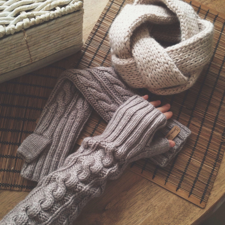 Knitted mittens | Knitting & Crocheting | Pinterest