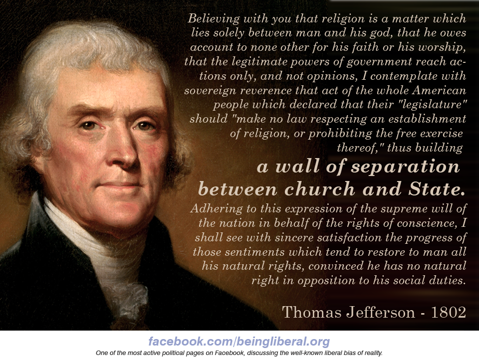 Thomas jefferson quotes separation quotesgram Thomas jefferson quotes