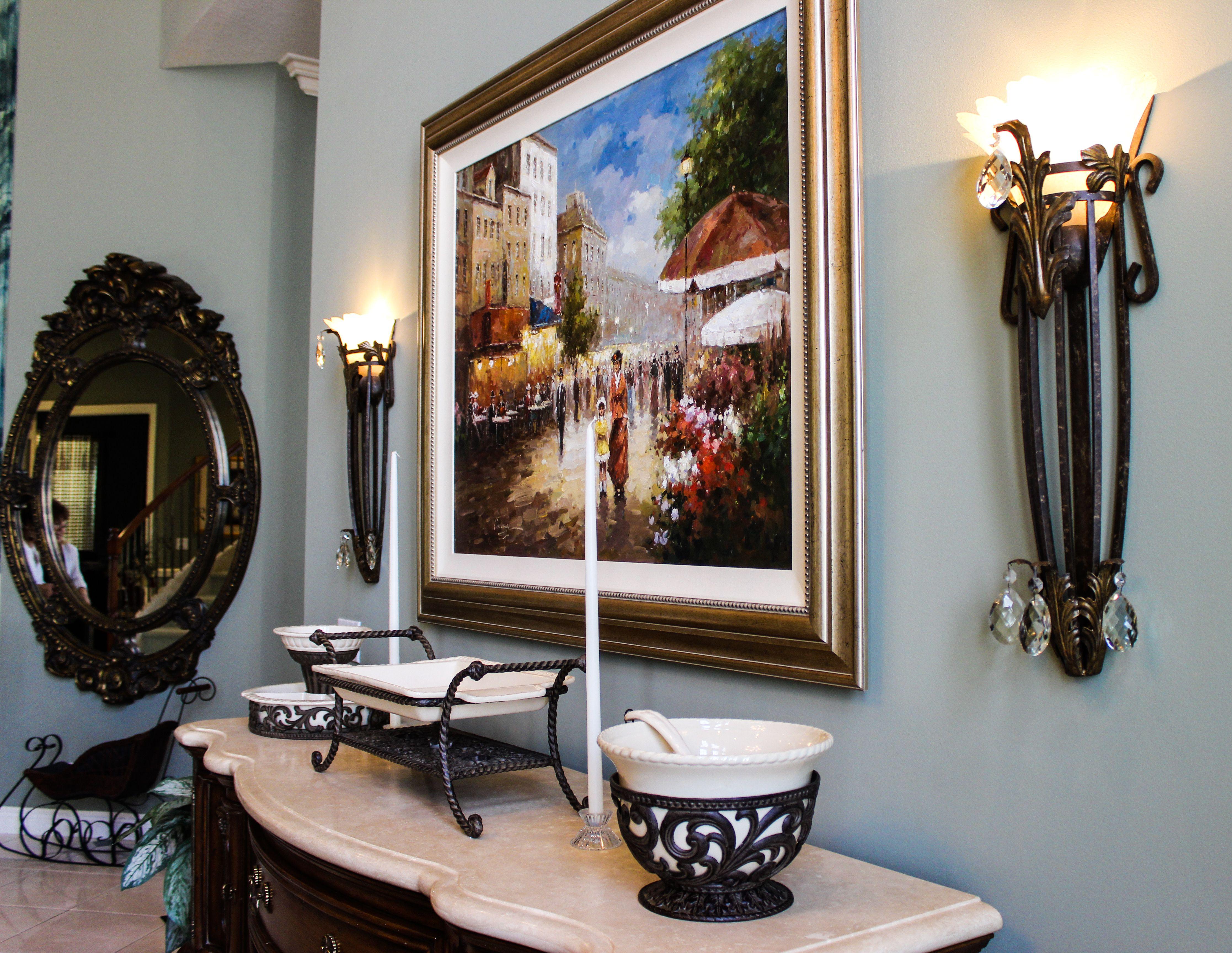 Entryway Decor La Serena Estate Home For Sale In Mizner Country Cl