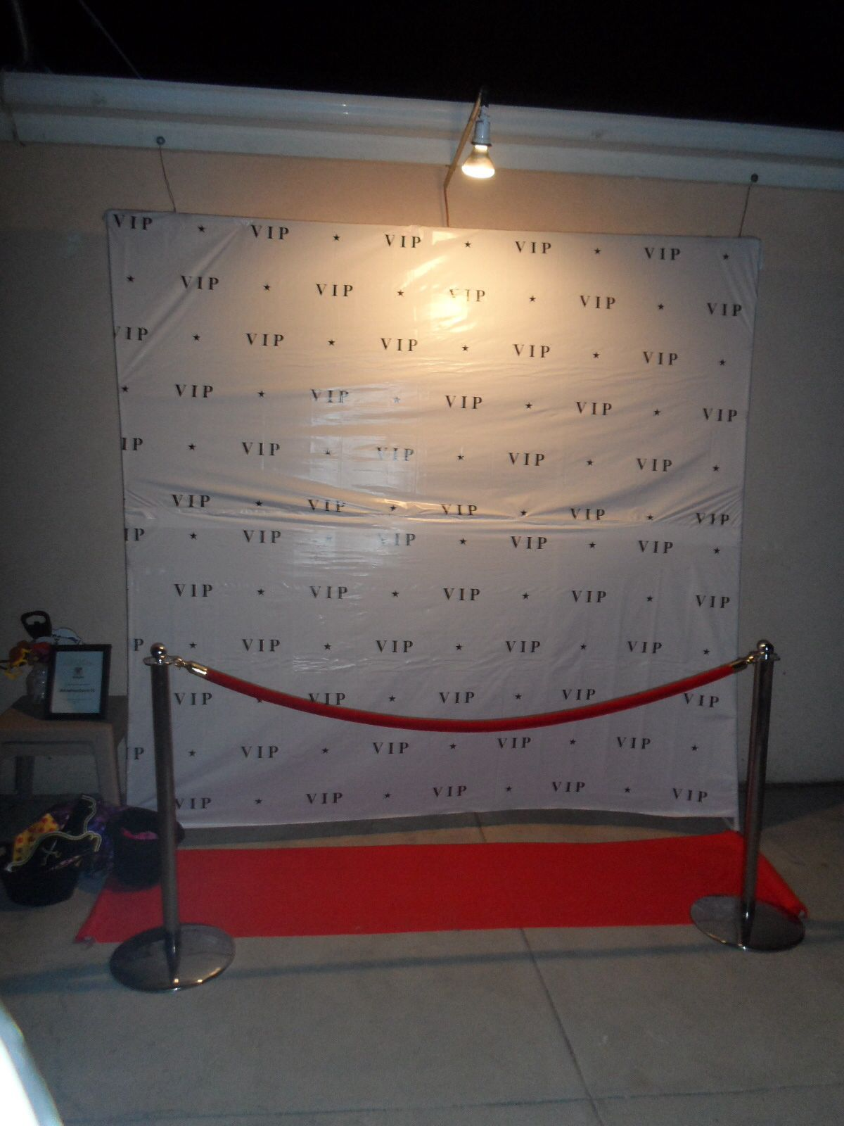 Vip photo background | Sweet 16 all White Party | Pinterest