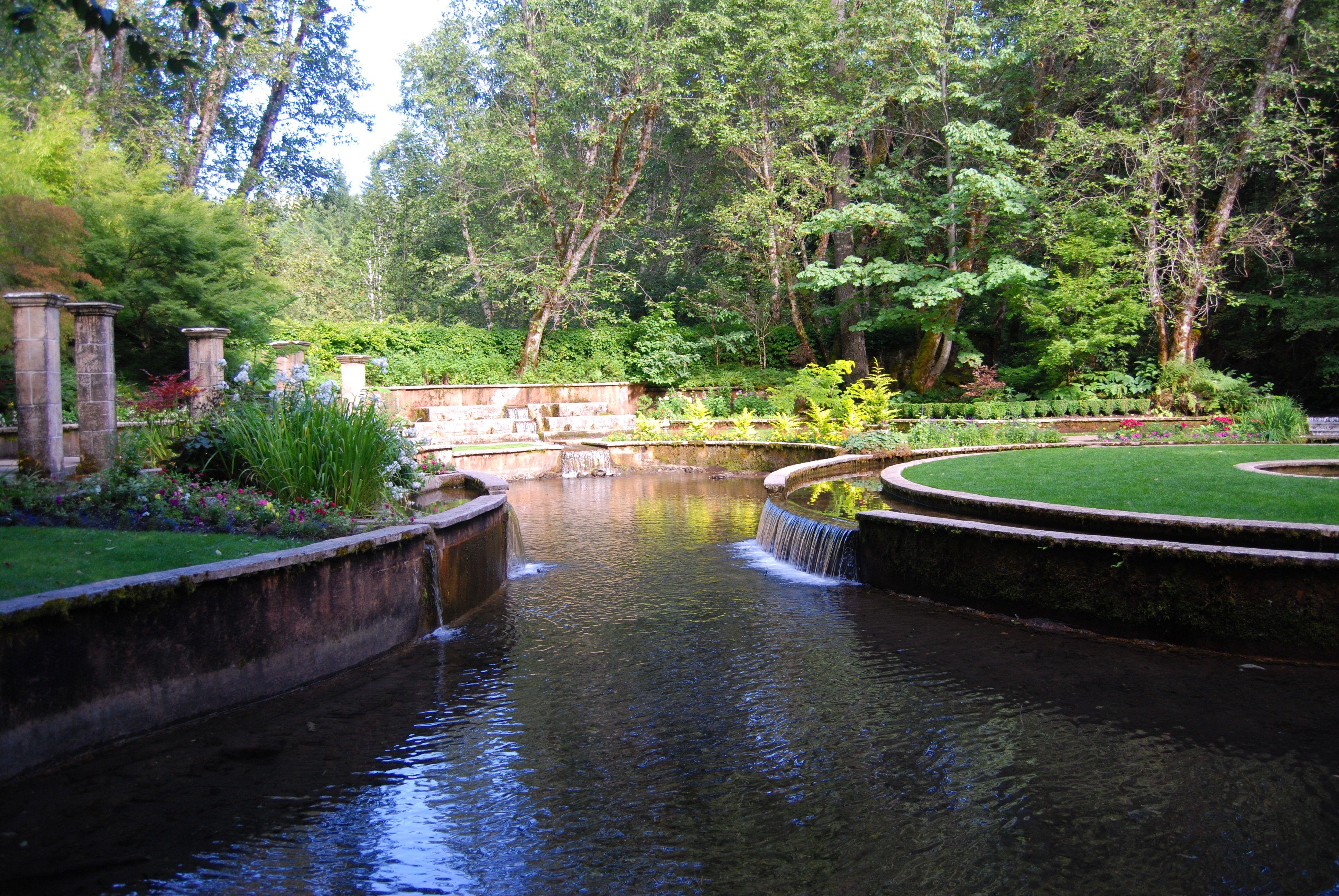 Secret Garden at Belknap Springs Oregon My Oregon