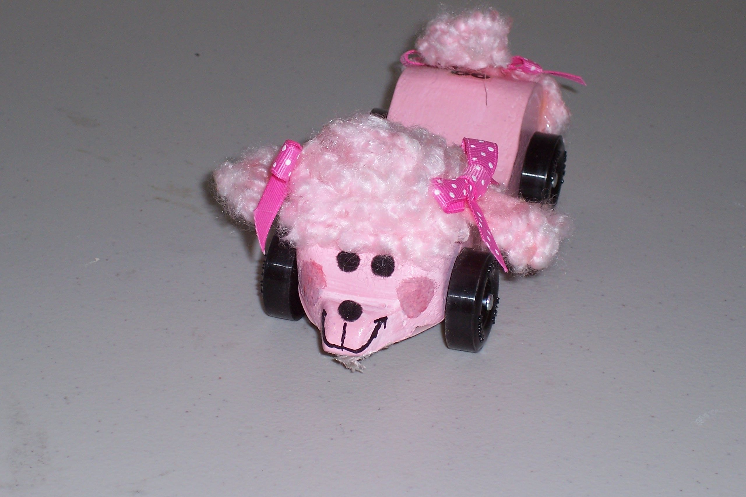 Grand prix car the pink poodle pinewood derby cars pinterest