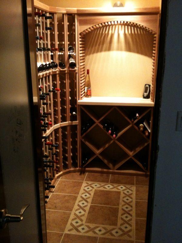 Small Wine Cellar Rack Our Cellars Pinterest