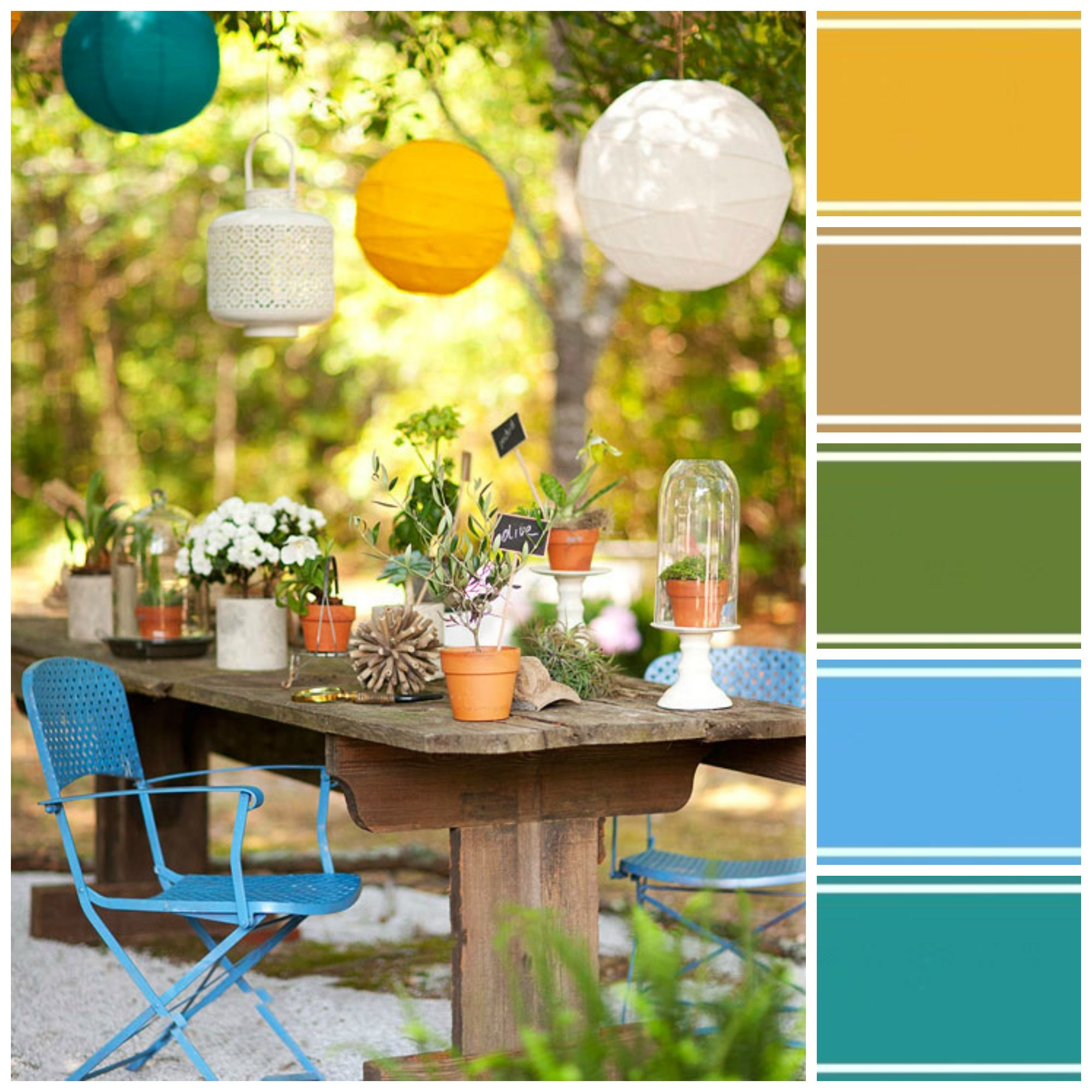 Pinterest garden decor ideas photograph outdoor decorating for Decoration ideas