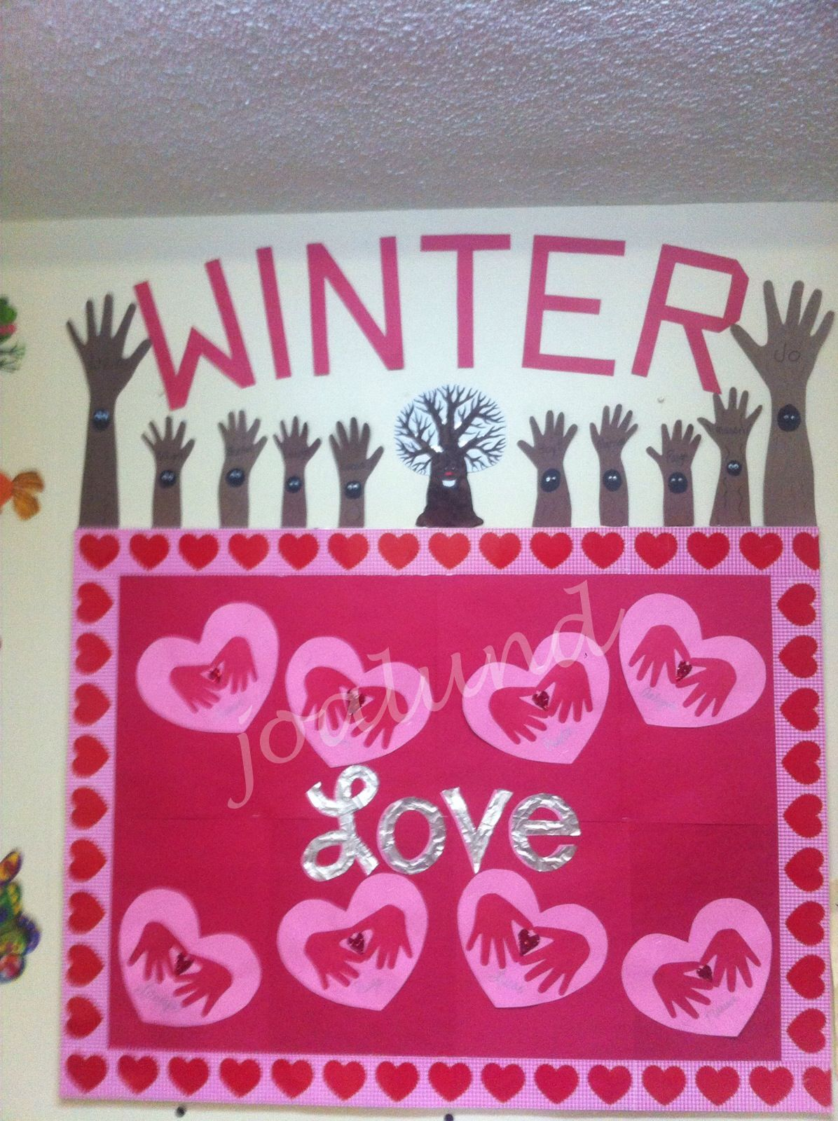 valentine's day bulletin board ideas for high school