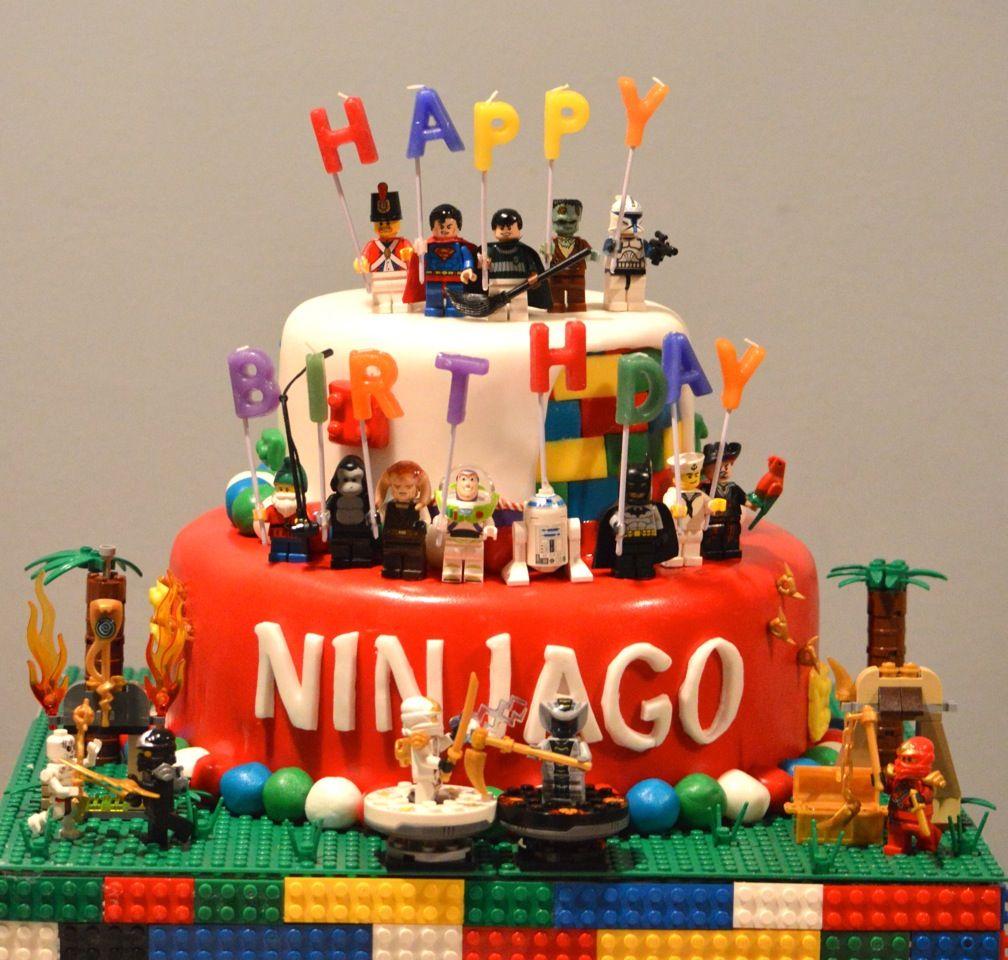 lego ninjago cake making memories pinterest