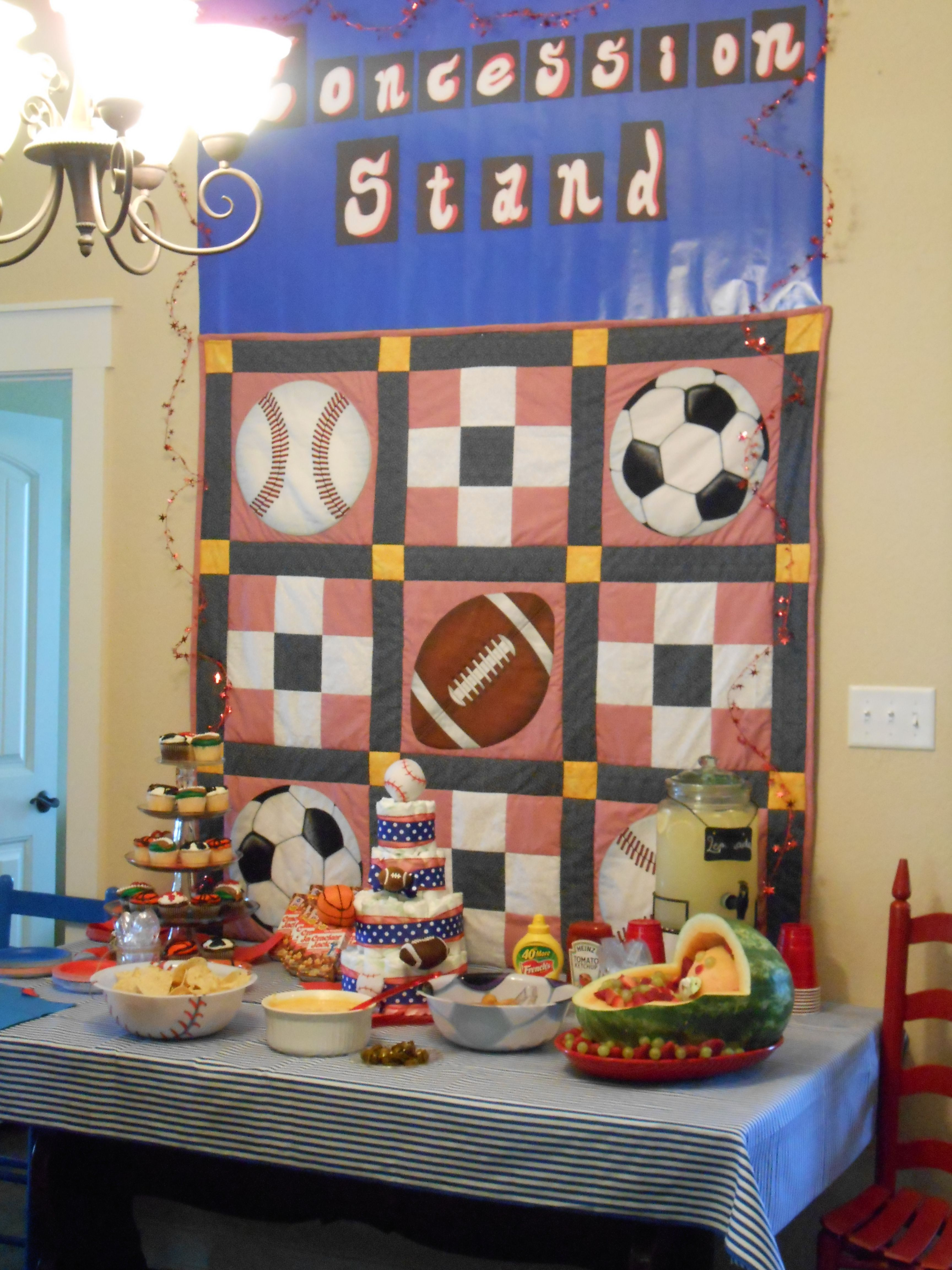 pin by monica cabrera on sports theme baby shower pinterest