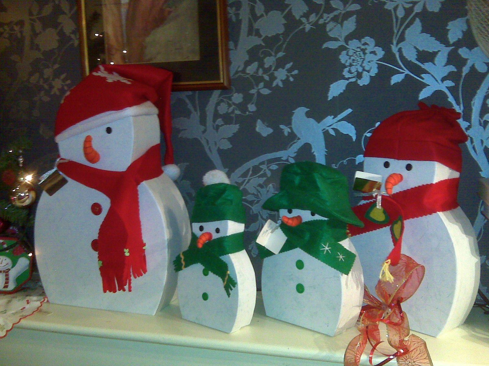 Wooden snowmen christmas pinterest for Snowman decorations