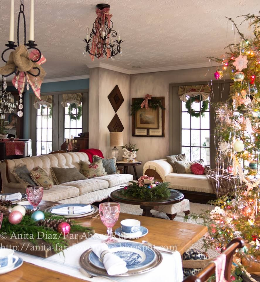 Christmas christmas decorating ideas pinterest for Pinterest home decor xmas