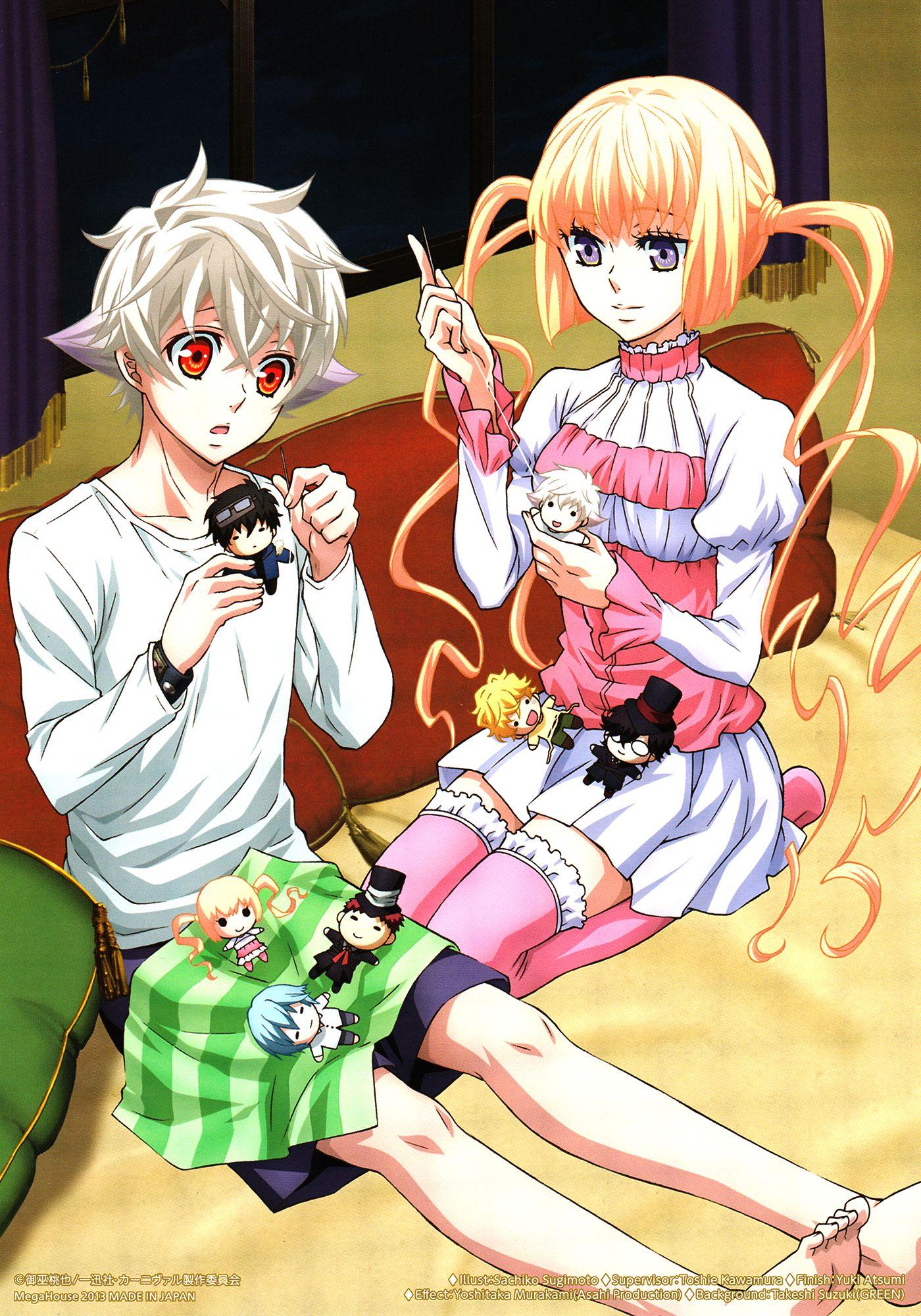 Nai and Tsukumo, Karneval | Anime | Pinterest