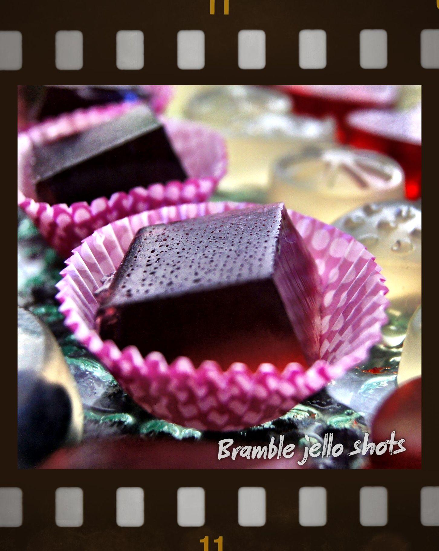Bramble Jello Shots | Jello Shots | Pinterest