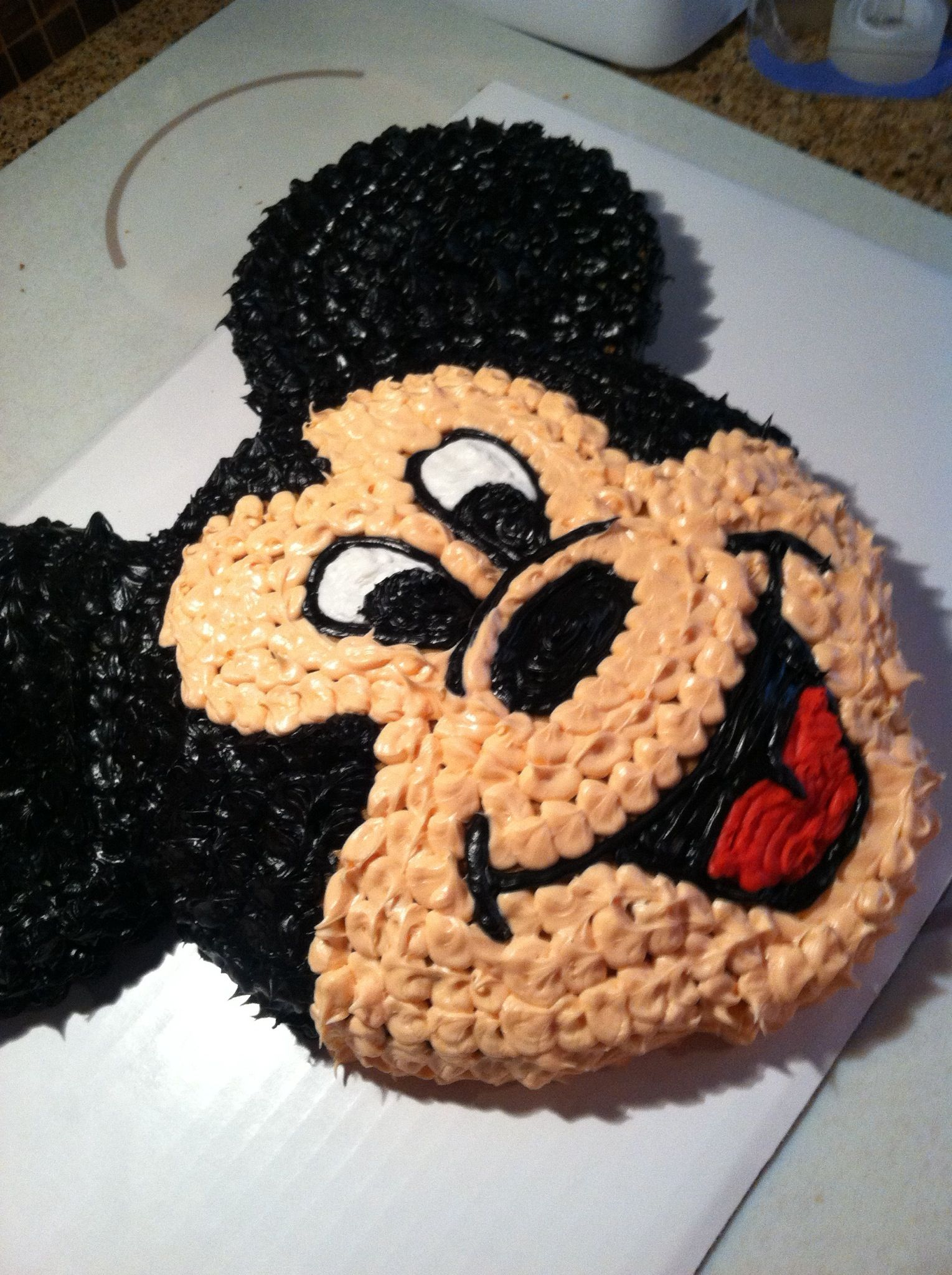 Mickey Mouse Cream Cake Images : Mickey Mouse cake Boys Rule Pinterest