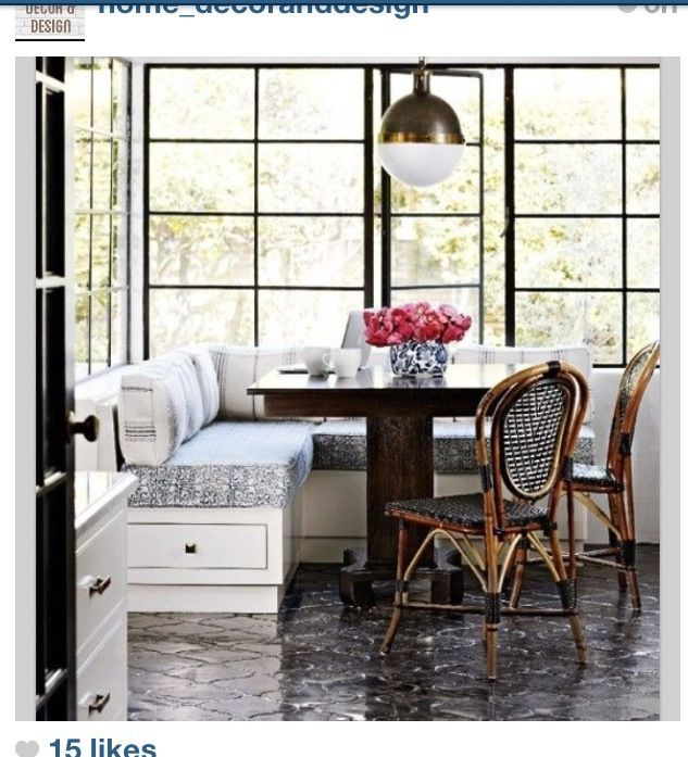 kitchen booth seating - Google Search  Decorating, organizing & DIY ...