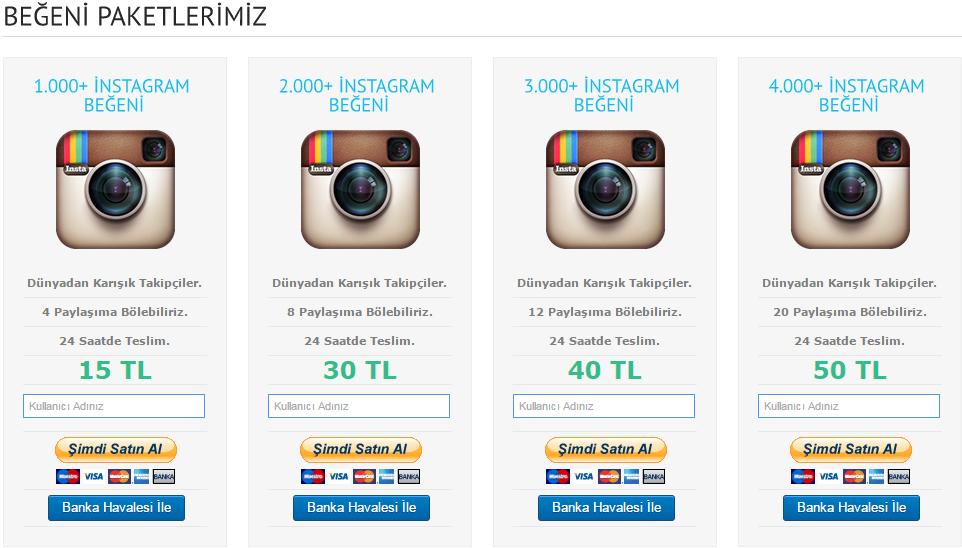 instagram beğeni satın al http://takipcipaketi.net/paket/9/begeni ...