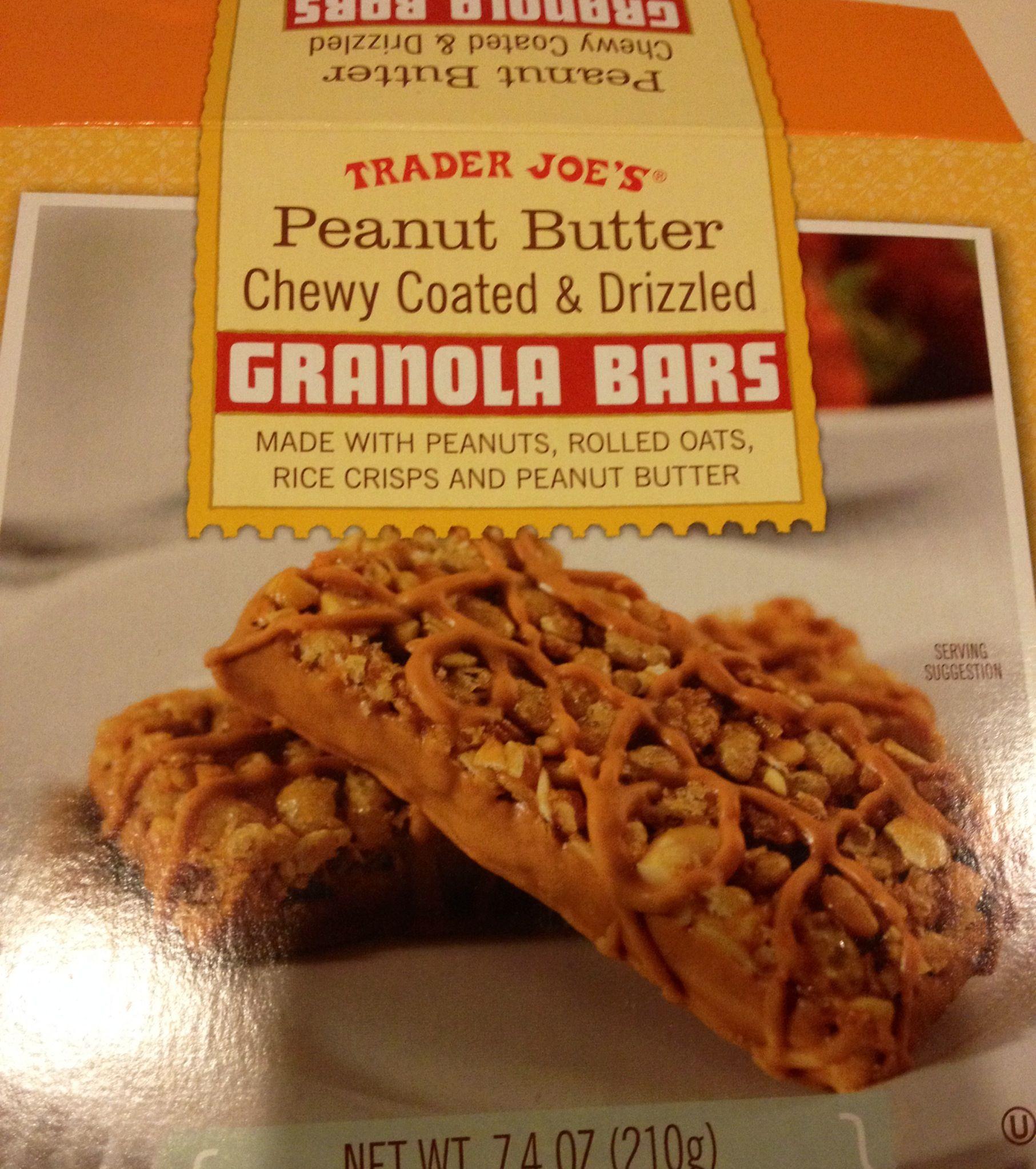 Peanut Butter Granola Bars (a Work In Progress) Recipe — Dishmaps