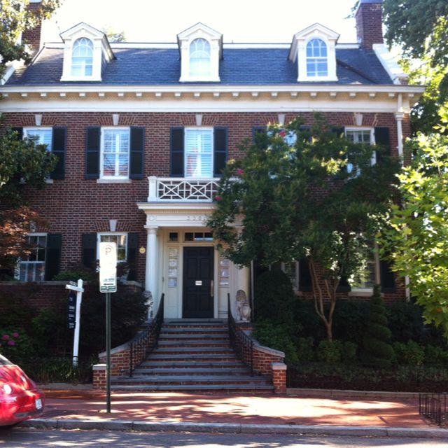 Jackie O 39 S House In Georgetown Georgetown University