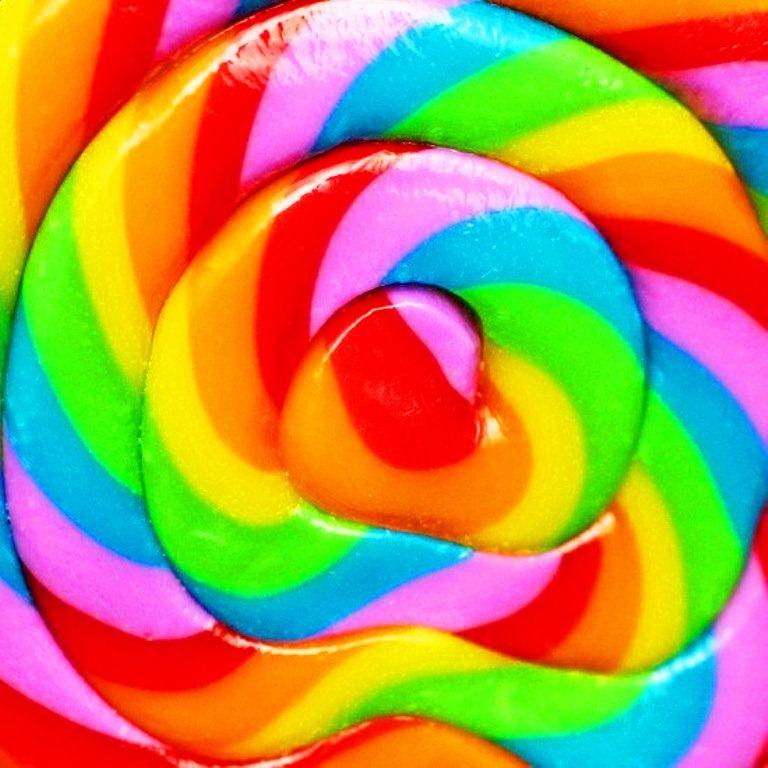 rainbow candy color vivid colors pinterest