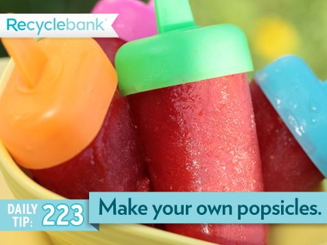 Make your own popsicles. | Recipes to Try | Pinterest