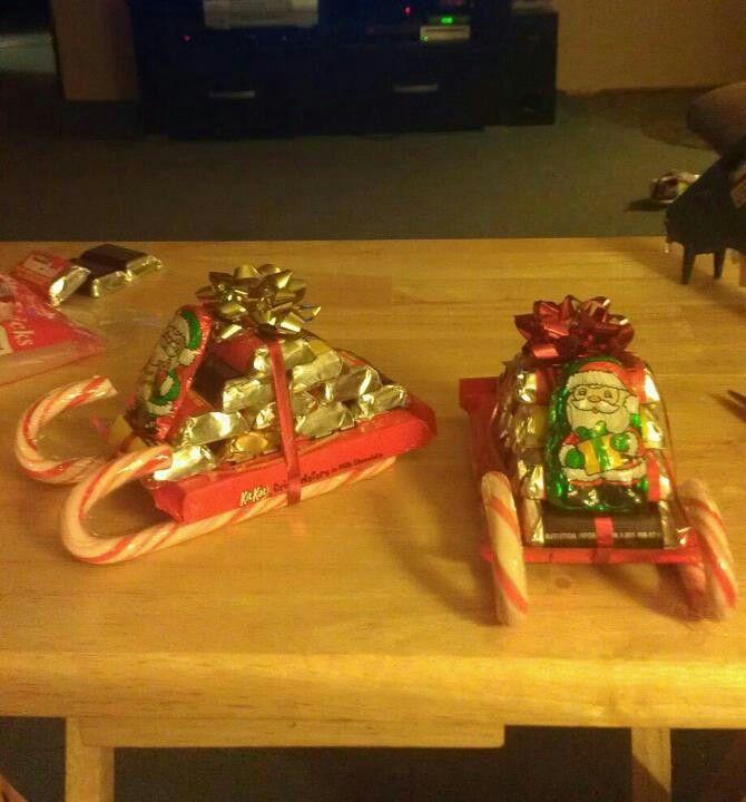 santa sleigh kit kat candy cane   just b.CAUSE
