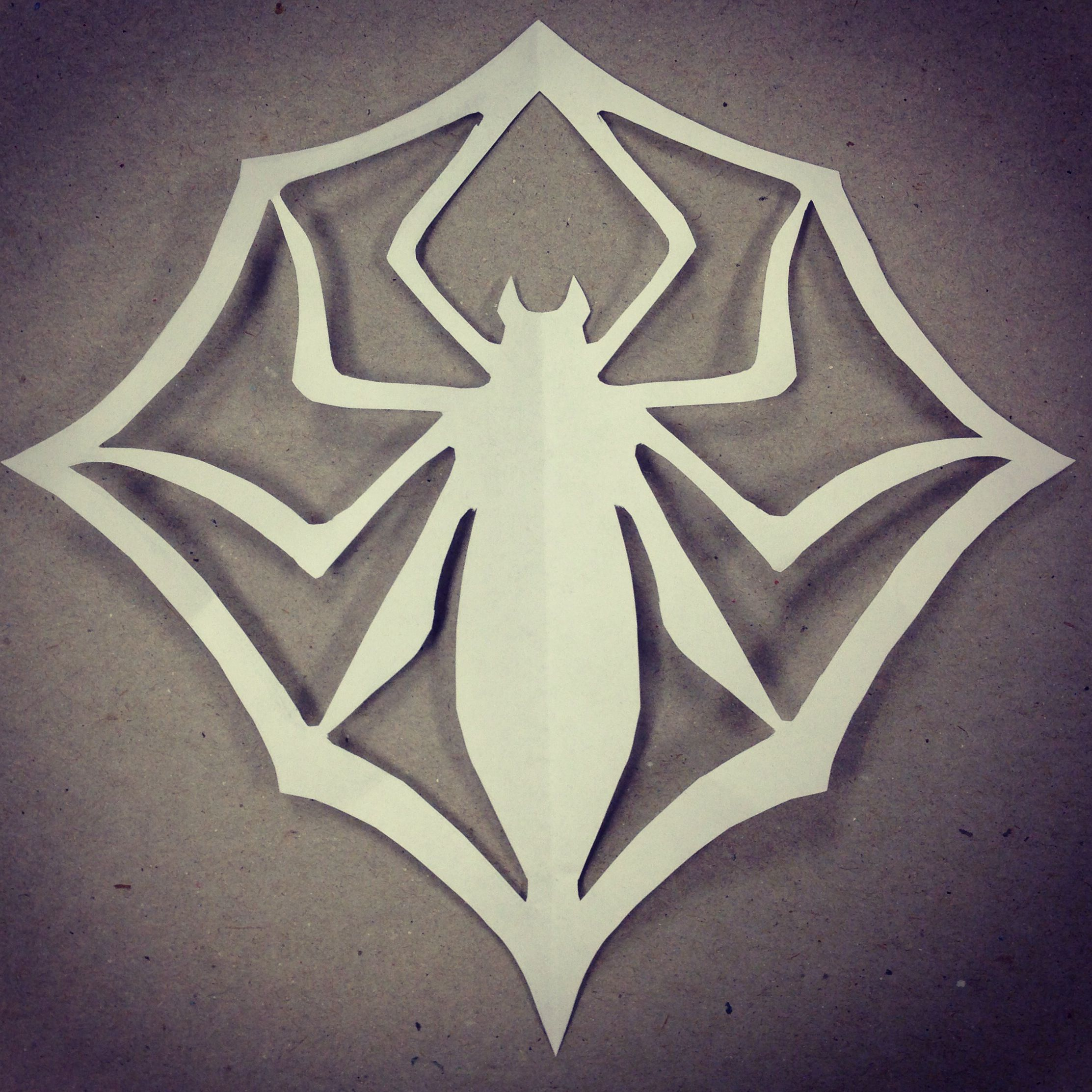 how to make a origami spider man