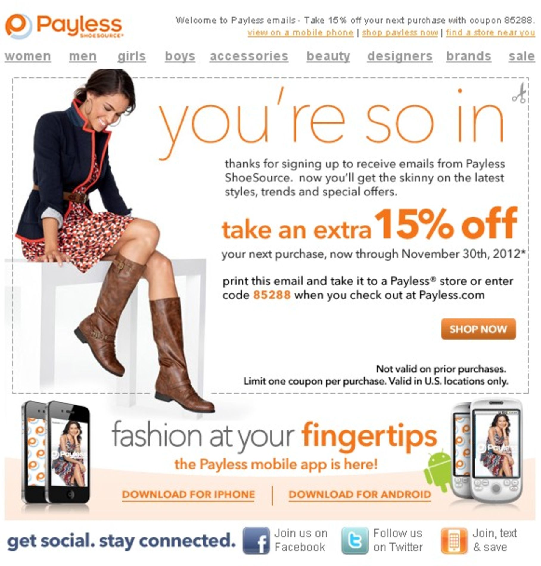 Payless shoe source coupon | Payless Shoe Source | Pinterest