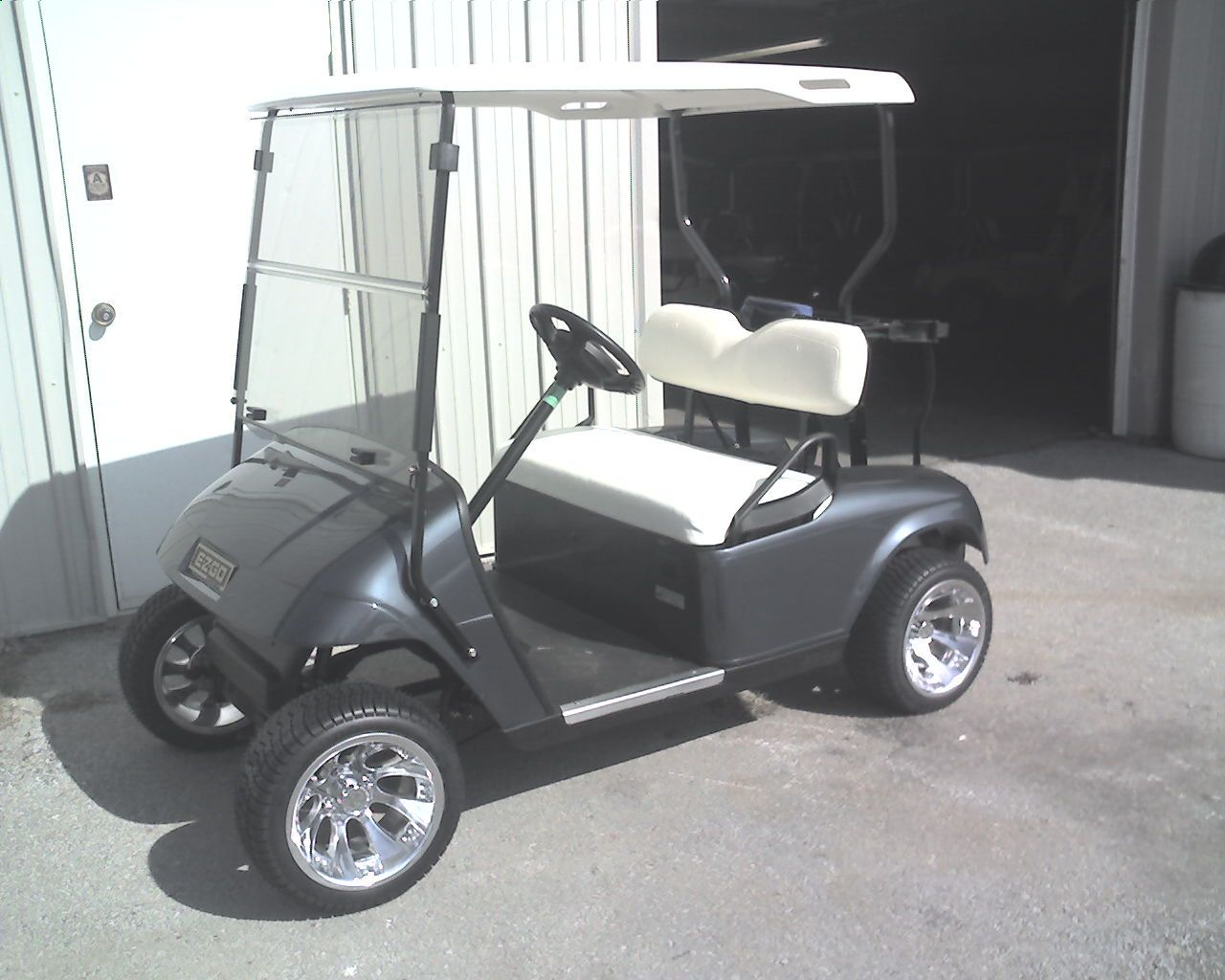 tricked out golf carts