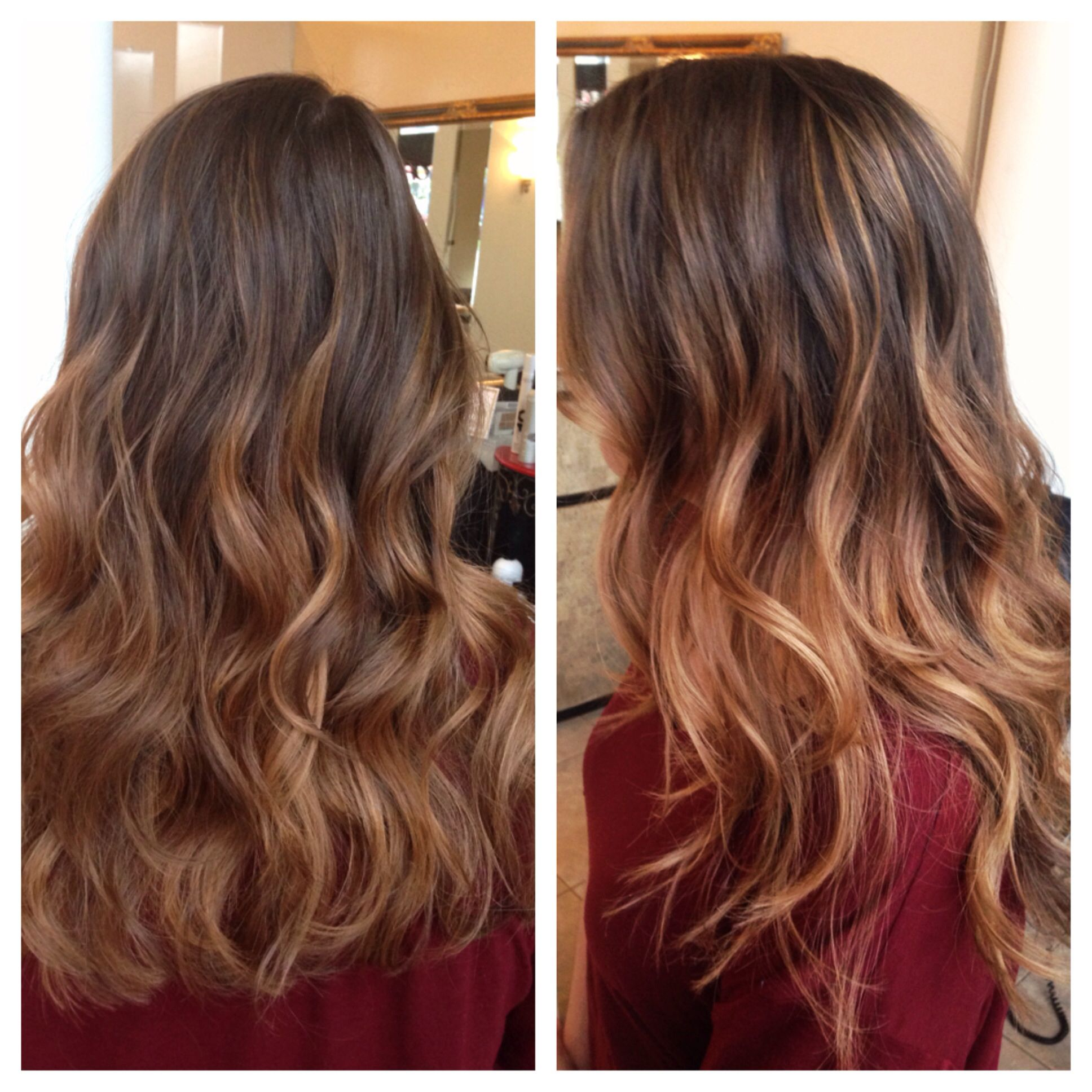 Balayage Ombre Highlights Balayage Ombr 233 Highlights