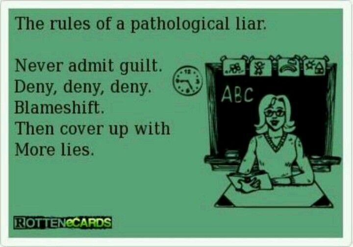 How to deal with a pathological liar husband
