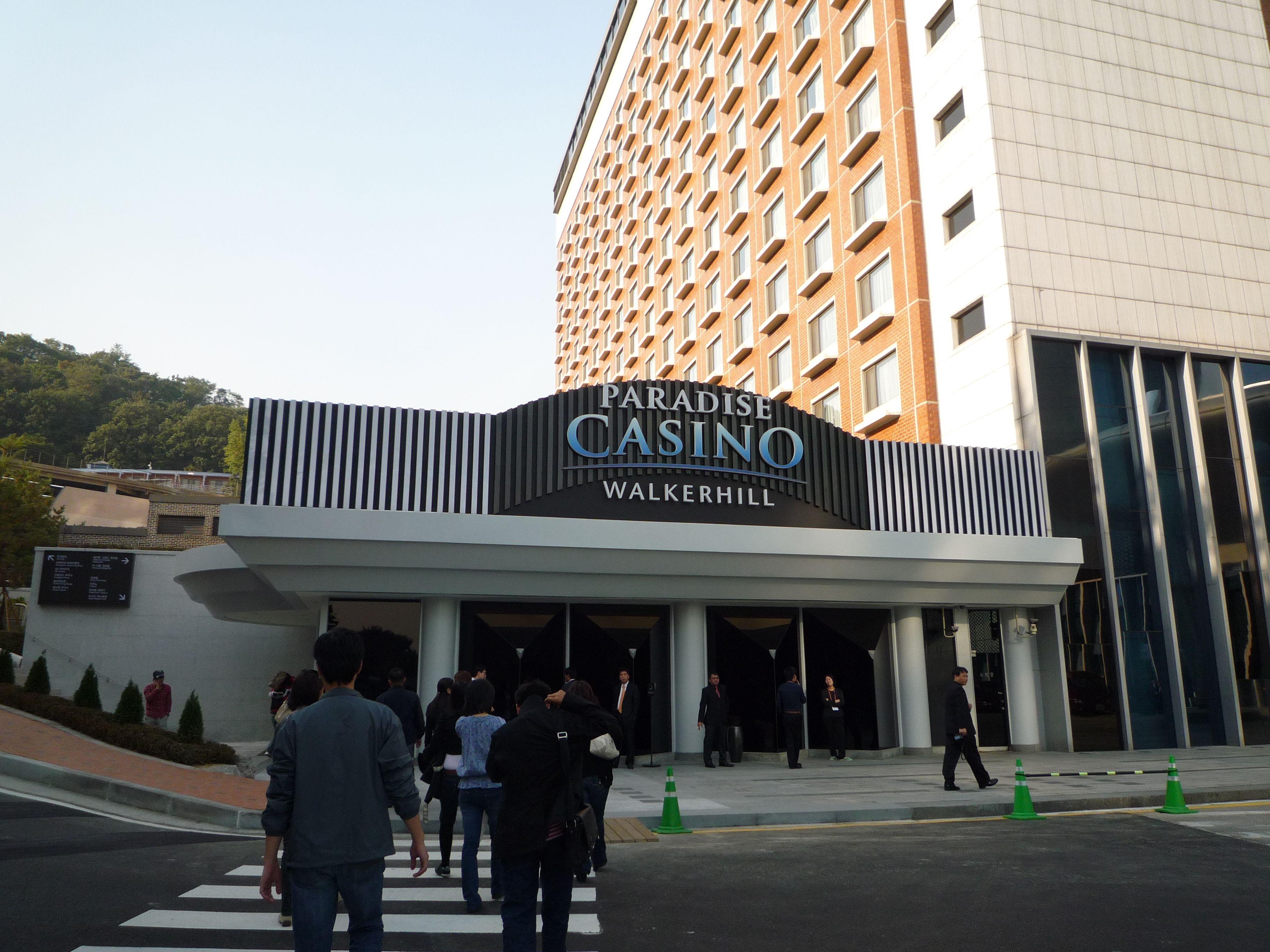 Seoul walker hill casino casino meadow prairie racetrack