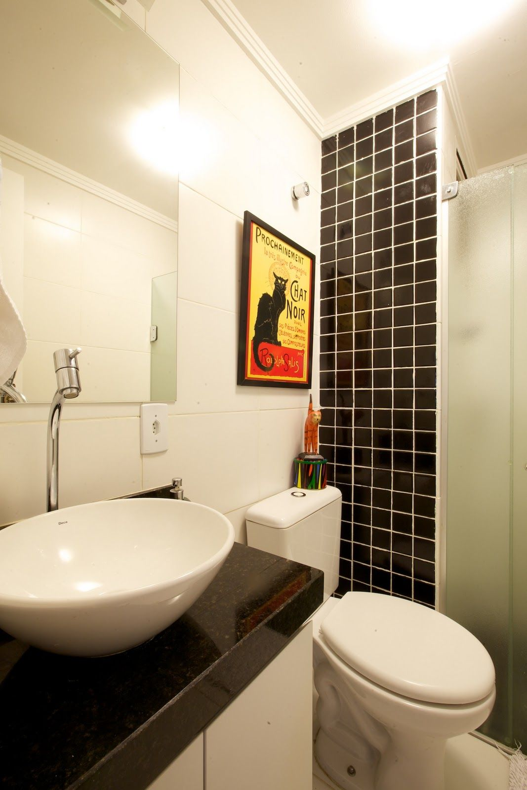 banheiro pequeno lar doce lar Pinterest #BC8C0F 1067x1600 Banheiro Com Banheira Pequeno