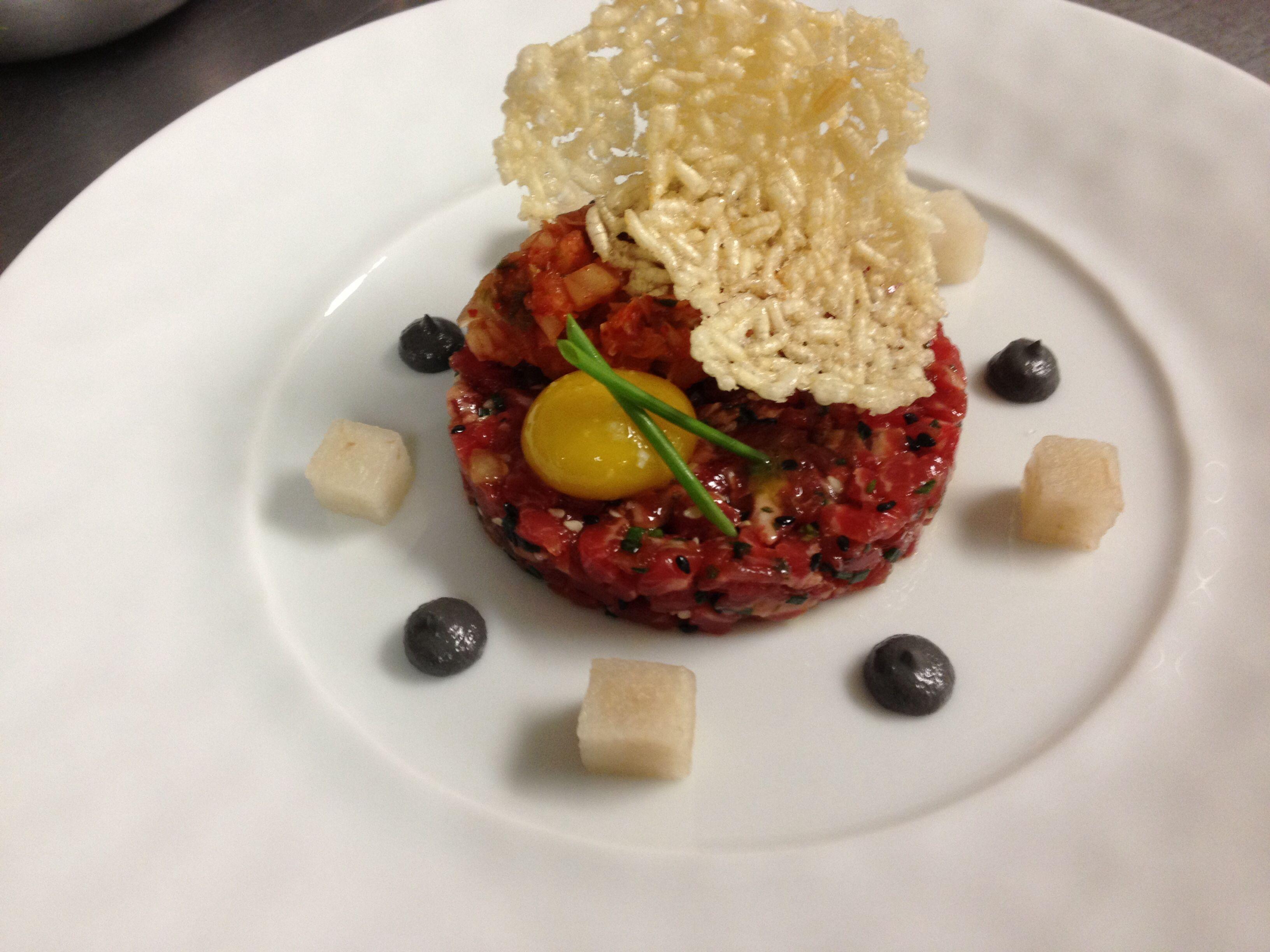 Korean beef tartare | Culture watch: Korea | Pinterest