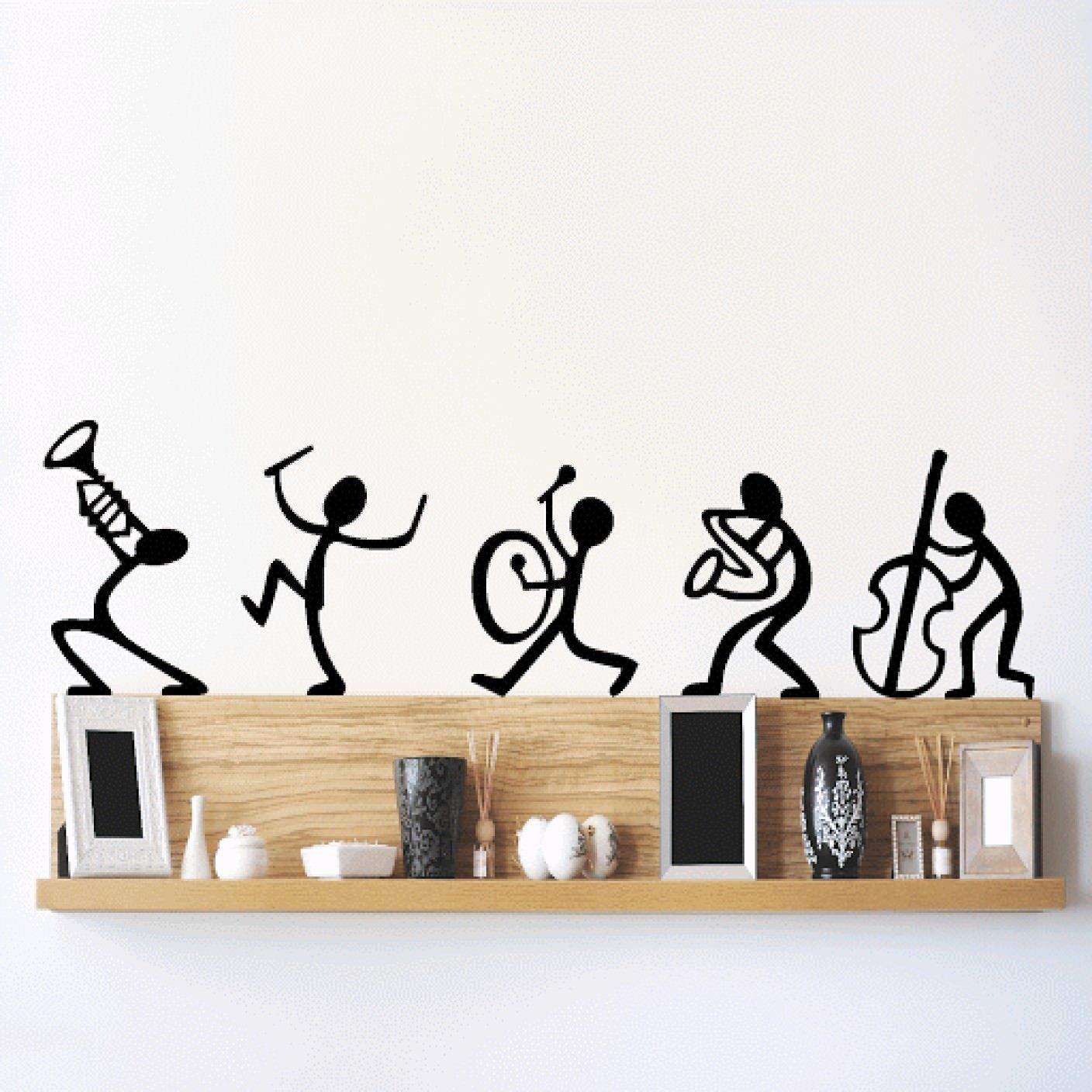 Buy Decals Design Musical Instruments Happy Band Wall