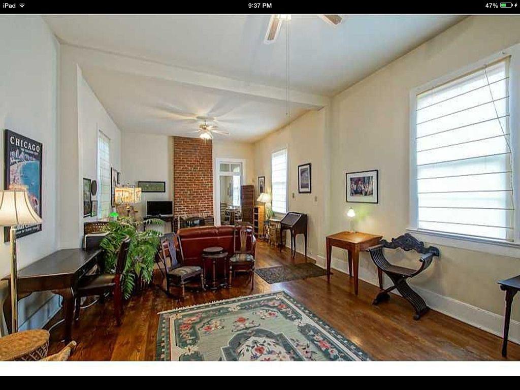 Shotgun house interior nola living room pinterest - New homes interior ...