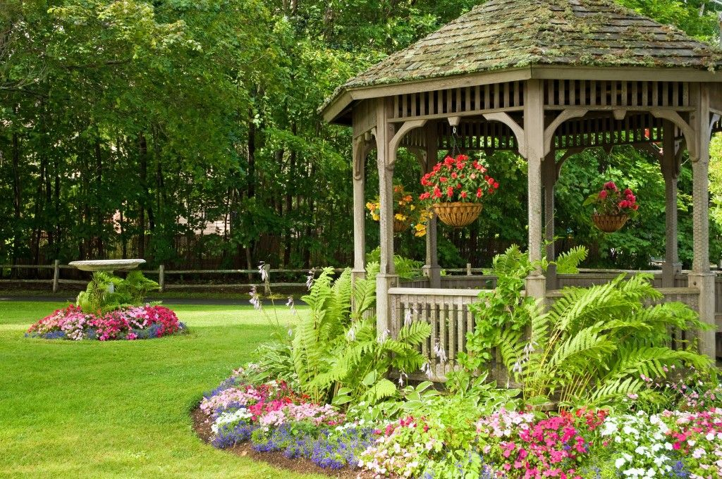 Backyard Gazebo Designs : ideas backyard with gazebo backyard landscaping around gazebo