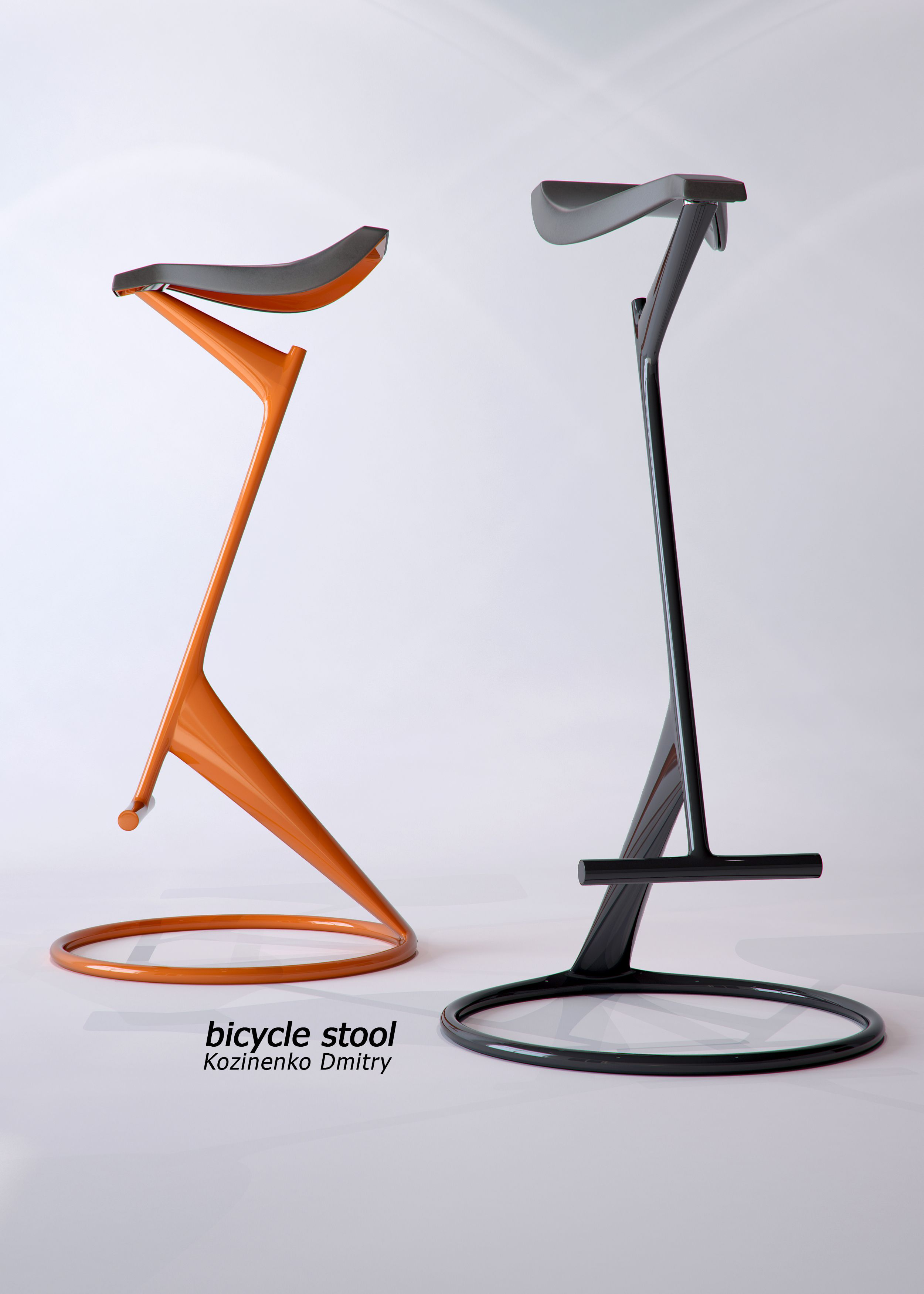 Bicycle Stool My Son S Designs Pinterest