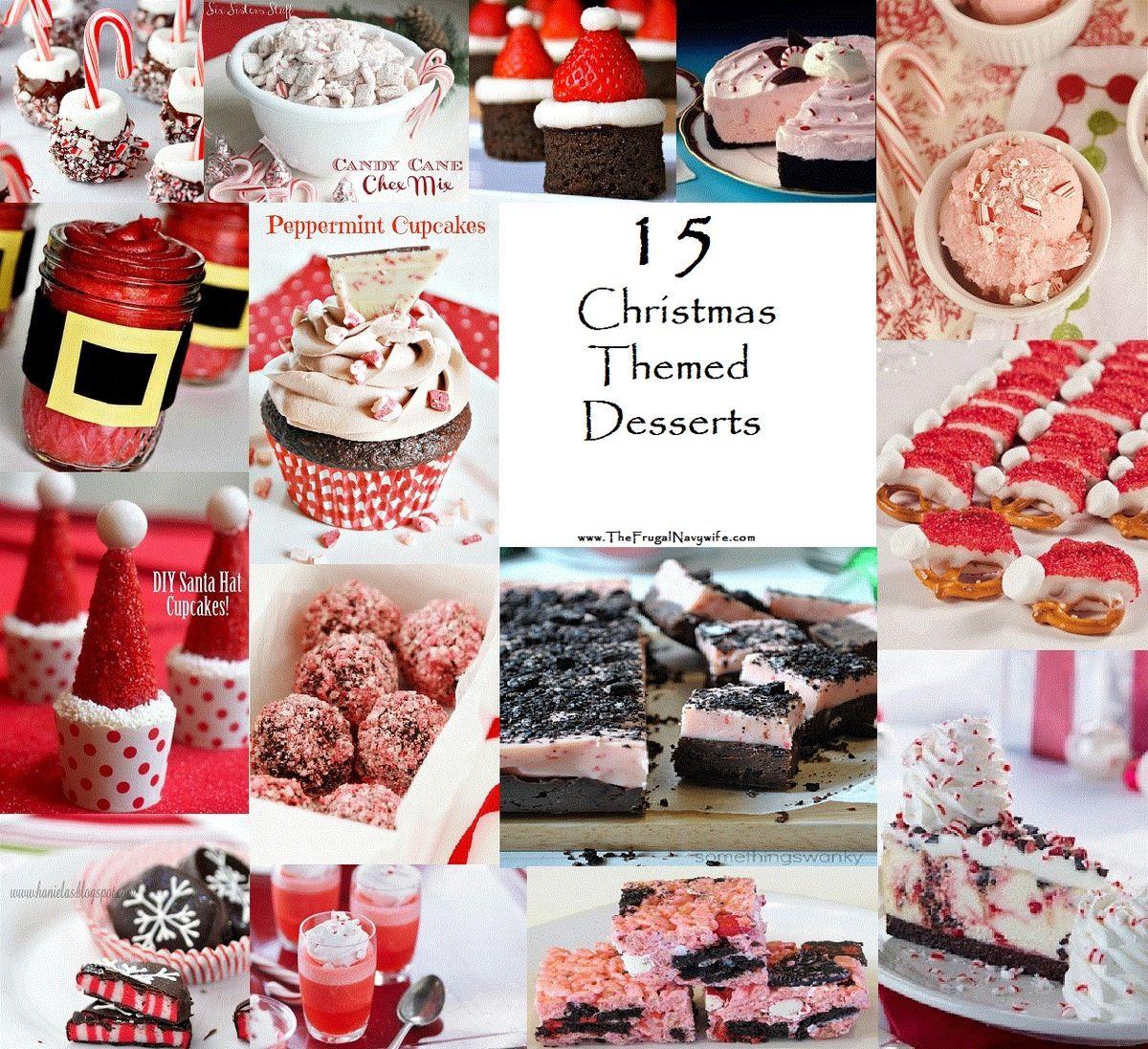 christmas desserts pinterest -#main