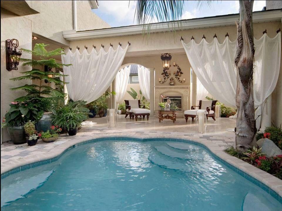 Pretty Homes Pool Amazing Indoor Out Door Pinterest