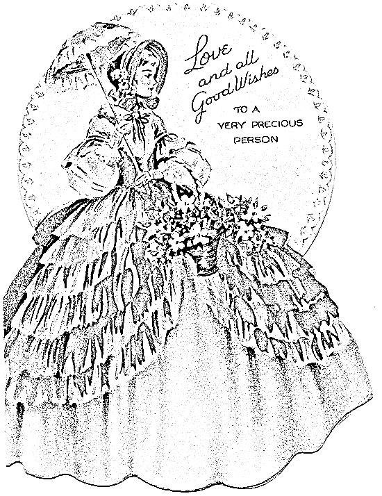 Top southern belle line art drawings images for pinterest for Southern belle coloring pages