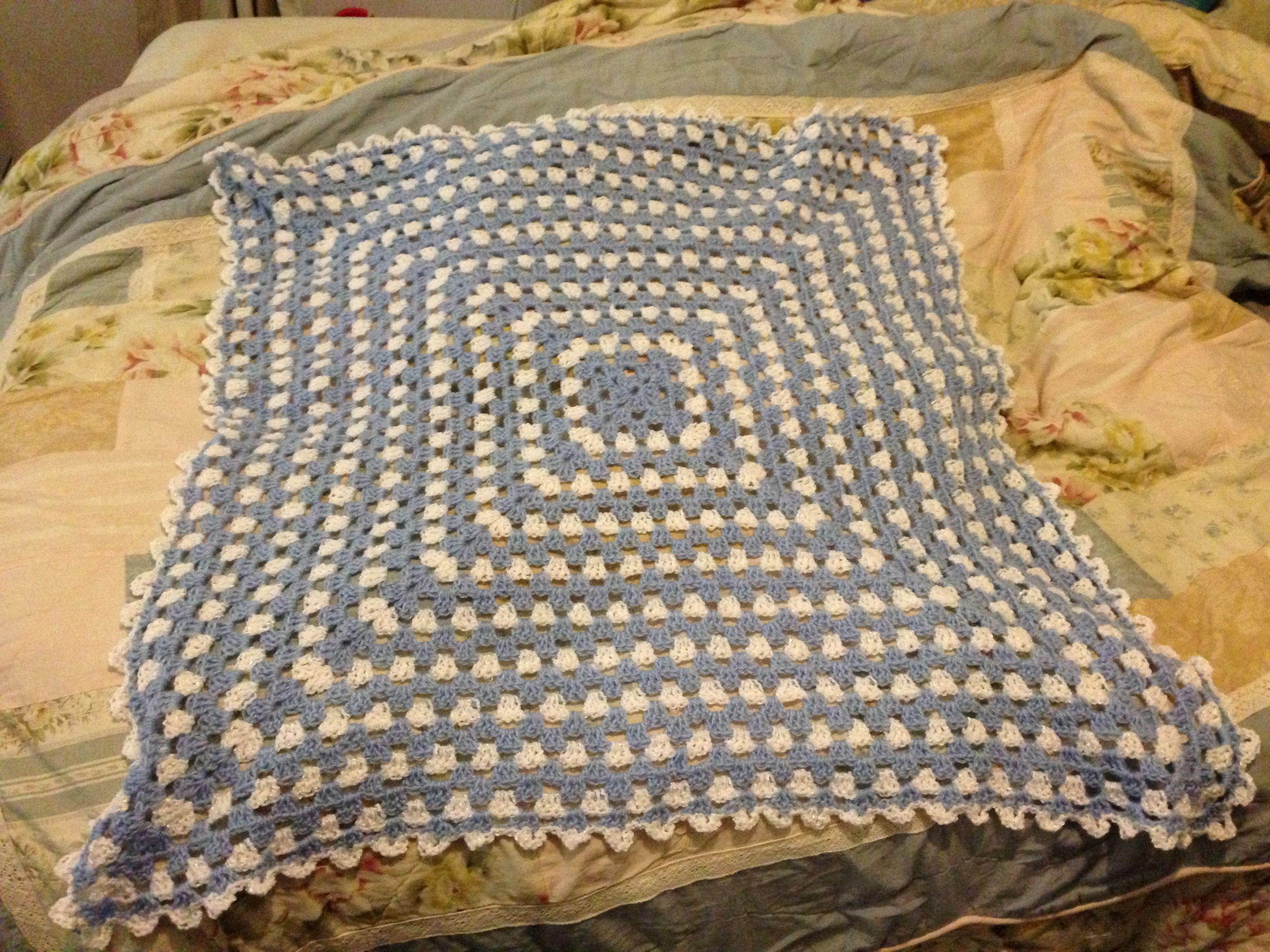 Crochet Caterpillar Baby Blanket Pattern : Baby blanket I crocheted CATs Crochet Creations Pinterest